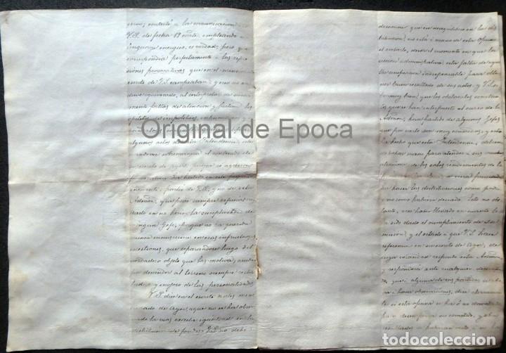 Militaria: (JX-190440)Documento 3ª Guerra Carlista de D. Francisco Sola a D.Martin Miret.Ejercito Real Cataluña - Foto 5 - 159467622