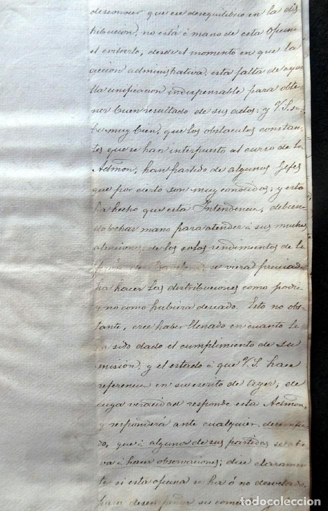 Militaria: (JX-190440)Documento 3ª Guerra Carlista de D. Francisco Sola a D.Martin Miret.Ejercito Real Cataluña - Foto 7 - 159467622