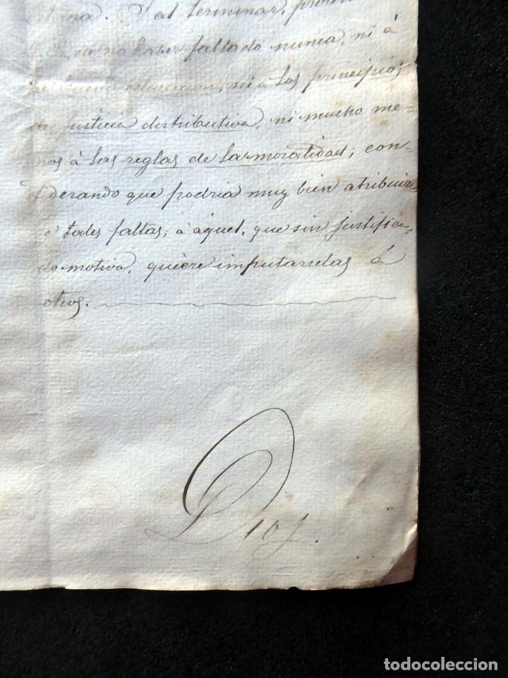 Militaria: (JX-190440)Documento 3ª Guerra Carlista de D. Francisco Sola a D.Martin Miret.Ejercito Real Cataluña - Foto 12 - 159467622