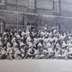 Militaria: POSTAL PROFESORES ACADEMIA GENERAL MILITAR ZARAGOZA. FRANCO. Lote 160416682