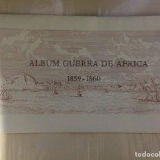 Militaria: ALBUM GUERRA DE AFRICA 1859 - 1860 15 ACUARELAS. Lote 160461922