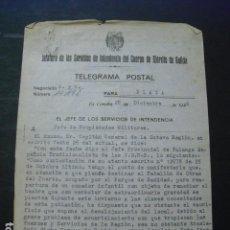 Militaria: 1940 CREACION DE COMEDOR INFANTIL PARA REMEDIAR EL HAMBRE QUE SE PREVÉ DE EXTRAORDINARIA GRAVEDAD. Lote 160450838