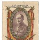 Militaria: 2150- EXTRAORDINARIO- DIPTICO DEL TENIENTE CORONEL SANTIAGO GONZALEZ TABLAS DE REGULARES DE CEUTA. Lote 160501390