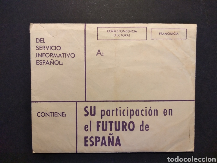 Militaria: Material referéndum nacional 1966 - Foto 5 - 160532726