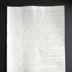 Militaria: AÑO 1823. MANDATO DEL REY A LOS GENERALES, JEFE DE EJÉRCITOS DE OPERACIONES. REAL ALCAZAR. SEVILLA. Lote 161519266