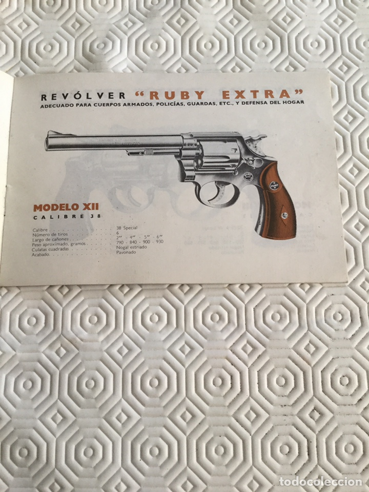 Militaria: Catálogo pistola Llama Gabilondo y Cía S.A. - Foto 2 - 161572178