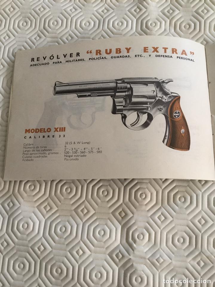 Militaria: Catálogo pistola Llama Gabilondo y Cía S.A. - Foto 3 - 161572178
