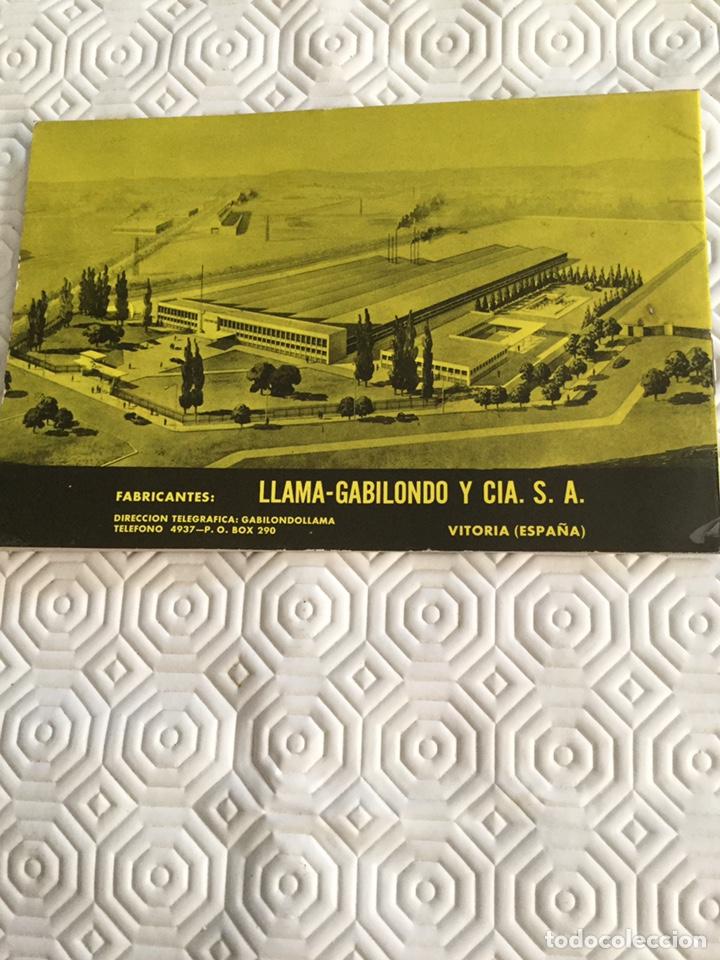 Militaria: Catálogo pistola Llama Gabilondo y Cía S.A. - Foto 10 - 161572178