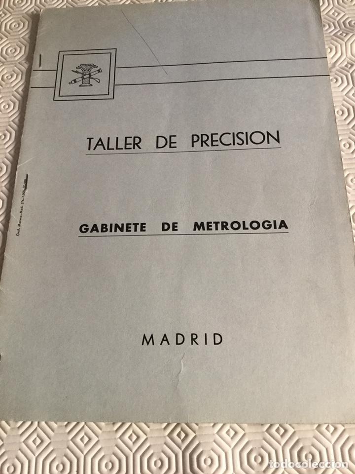 LIBRO DE TALLER DE PRECISIÓN DEL MINISTERIO DE DEFENSA (Militar - Propaganda y Documentos)