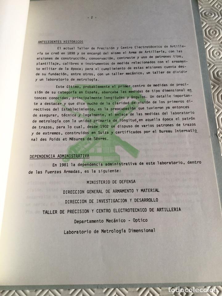 Militaria: Libro de taller de precisión del Ministerio de defensa - Foto 3 - 161647237