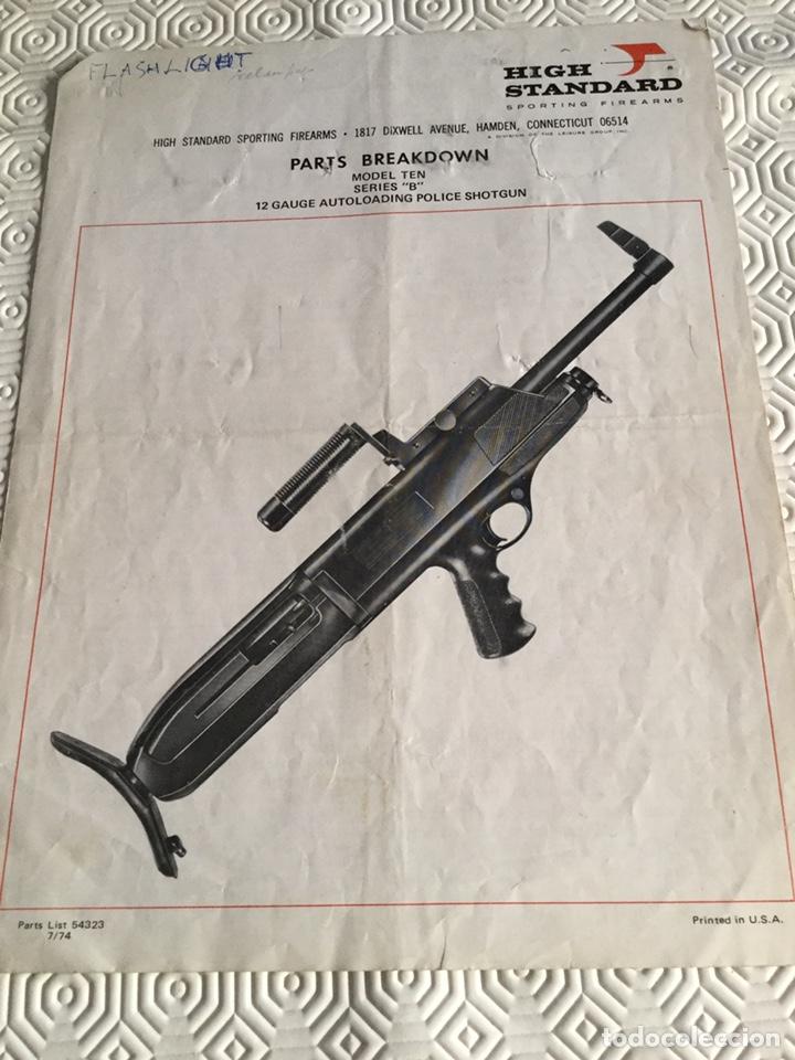 CATÁLOGO ESCOPETA POLICIAL USA (Militar - Propaganda y Documentos)