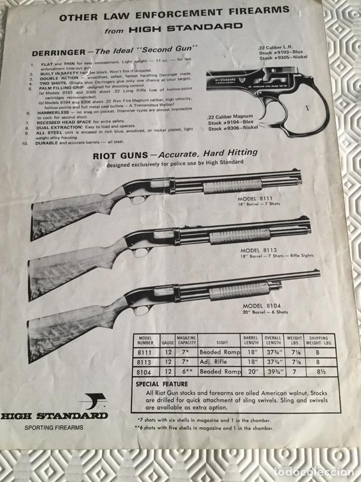 Militaria: Catálogo escopeta policial USA - Foto 5 - 161649928