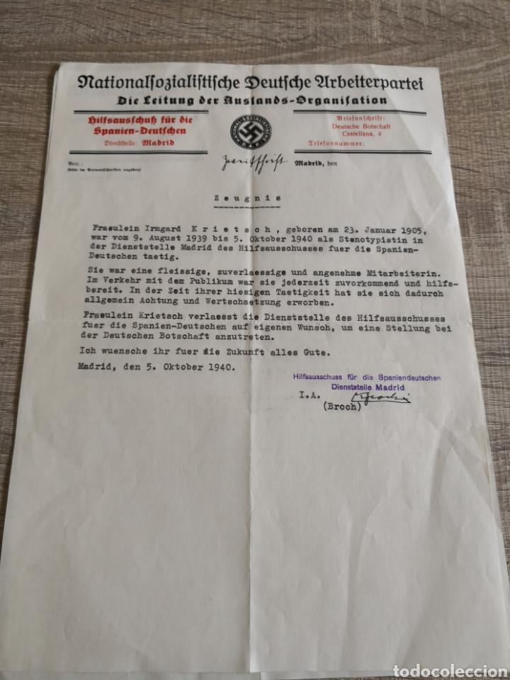 Militaria: Conjunto de documentación y fotografías Alemania - Foto 2 - 162099520