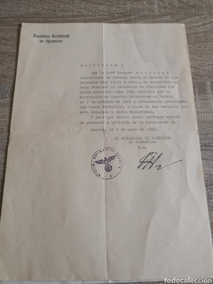Militaria: Conjunto de documentación y fotografías Alemania - Foto 3 - 162099520