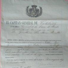 Militaria: VILASECA LICENCIA SOLDADO. Lote 162293278