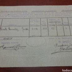 Militaria: GUARDIA CIVIL ALCOY 1928. Lote 163469928