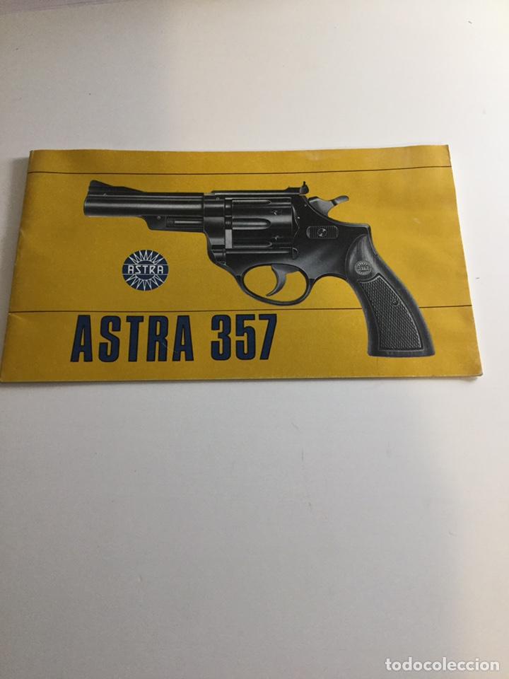 MANUAL REVÓLVER ASTRA 357 (Militar - Propaganda y Documentos)