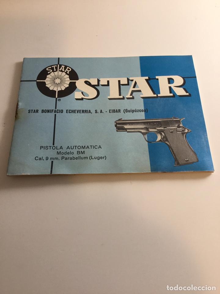 MANUAL PISTOLA STAR BM (Militar - Propaganda y Documentos)