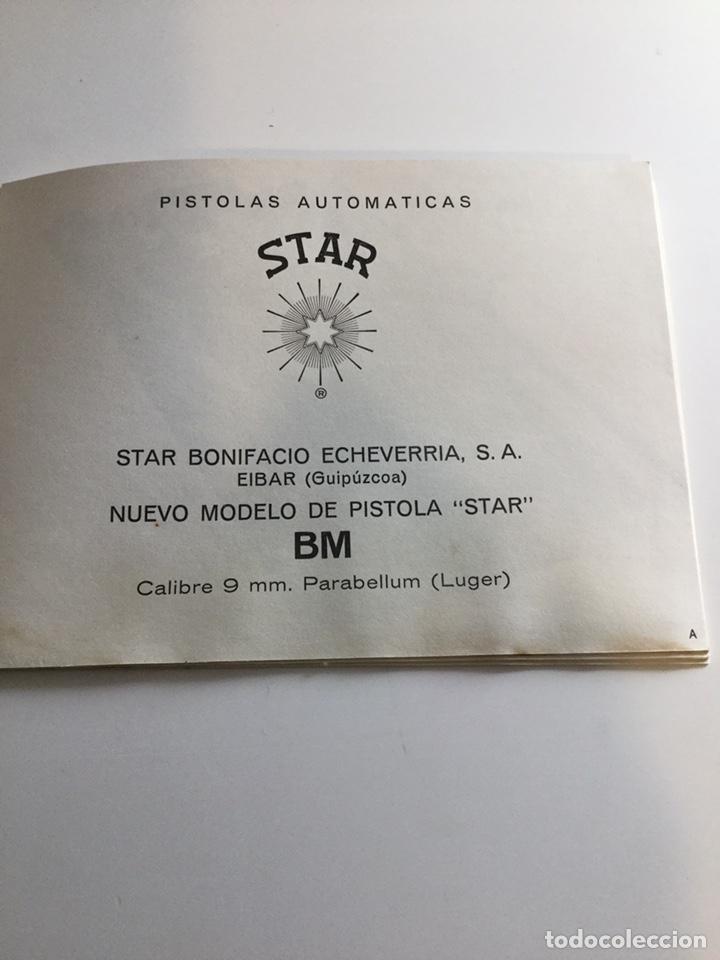 Militaria: Manual Pistola Star BM - Foto 2 - 163522160