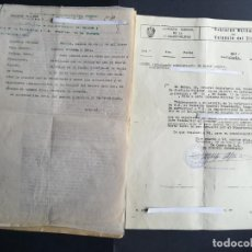 Militaria: DOCUMENTACIÓN 1983 RECURSO HABERES PASIVOS MILITAR CON AÑOS DE SERVICIO EN EJÉRCITO REPUBLICANO. Lote 163596962