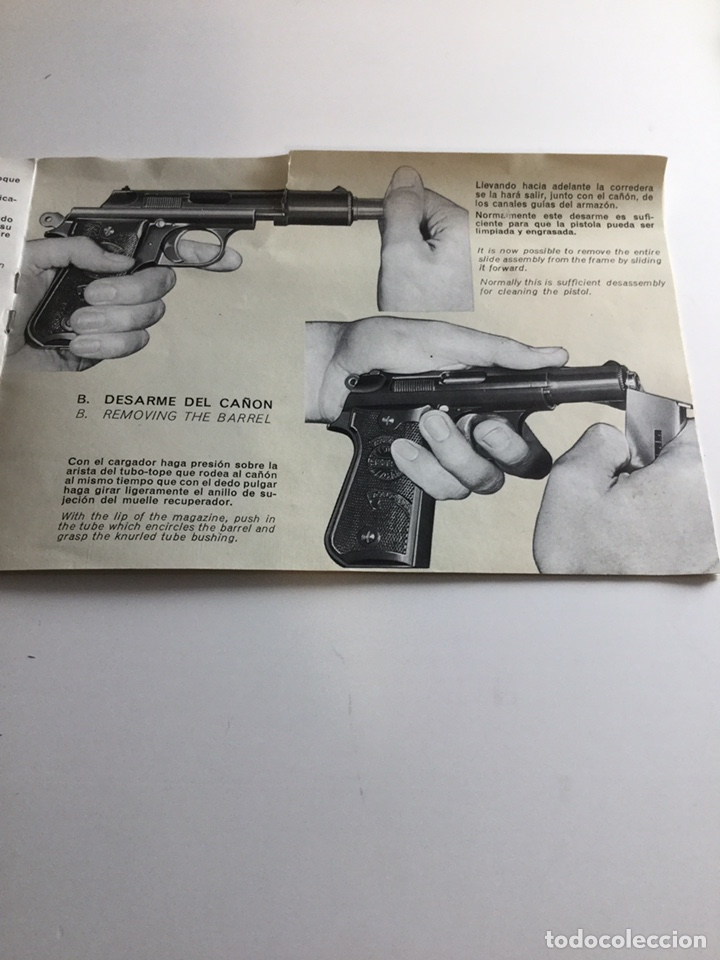 Militaria: Manual pistola Astra Falcon - Foto 3 - 163988768