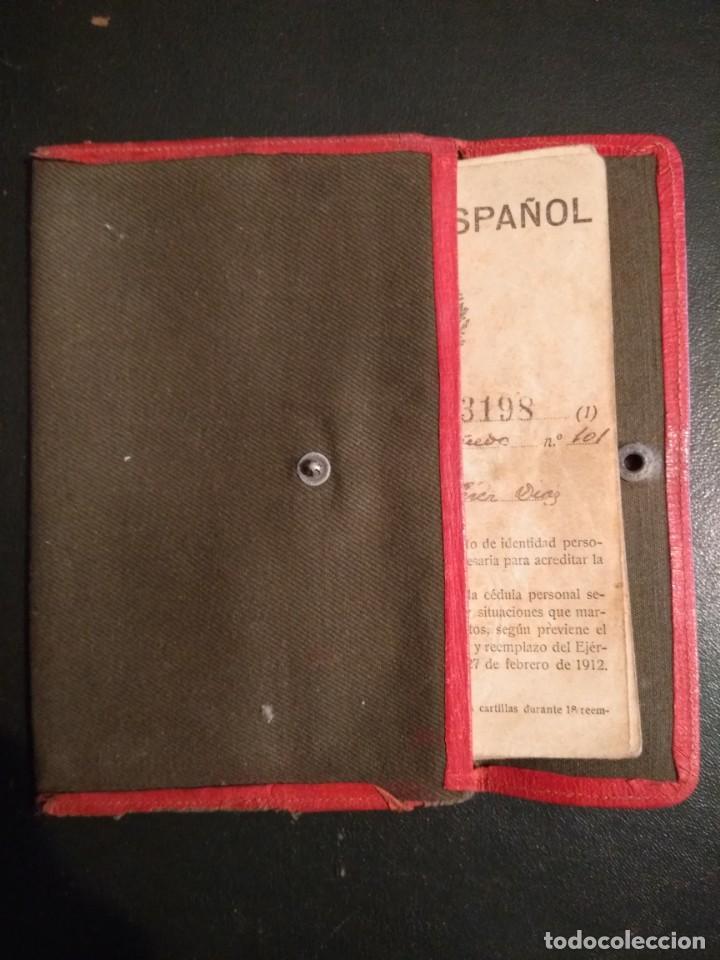 CARTILLA MILITAR DE 1923 CON SU FUNDA (Militar - Propaganda y Documentos)