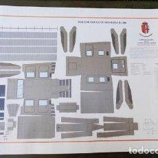 Militaria: RECORTABLE DEL TRACTOR ORUGA DE MONTAÑA BY-206. Lote 164921338