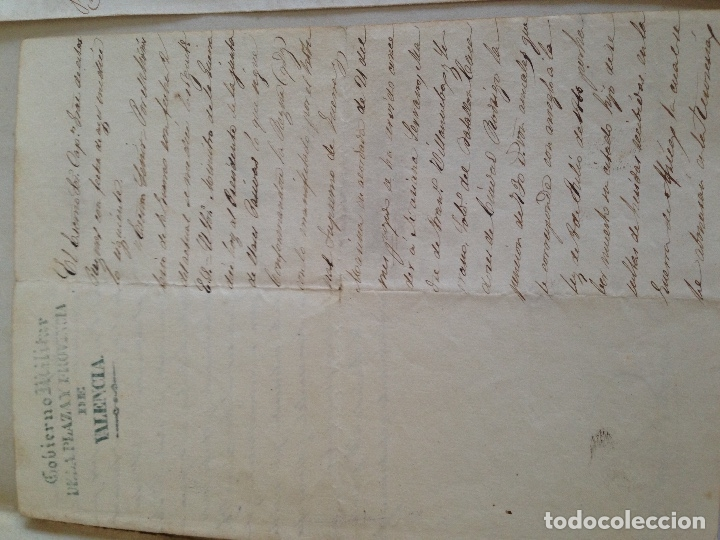 Militaria: Documento militar antiguo - Foto 3 - 166147498
