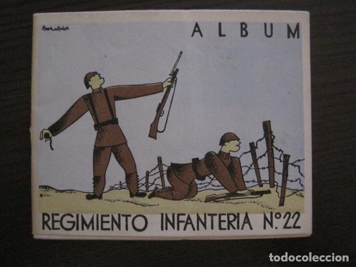 Militaria: ZARAGOZA-REPUBLICA-ALBUM REGIMIENTO INFANTERIA-VER FOTOS-(V-17.280) - Foto 2 - 166940620
