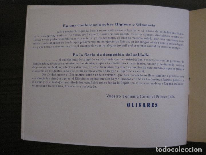 Militaria: ZARAGOZA-REPUBLICA-ALBUM REGIMIENTO INFANTERIA-VER FOTOS-(V-17.280) - Foto 34 - 166940620
