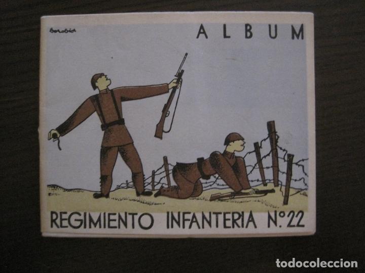 ZARAGOZA-REPUBLICA-ALBUM REGIMIENTO INFANTERIA-VER FOTOS-(V-17.280) (Militar - Propaganda y Documentos)