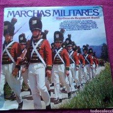 Militaria: LP VINILO MÚSICA MARCHAS MILITARES THE GUARDS REGIMENT BAND AÑO 1978 DIAL DISCOS. Lote 167470425