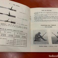 Militaria: ANTIGUO MANUAL O GUIA DE GRANADAS DE FUSIL ANTIPERSONA Y MIXTA. EDICION DE 1965. RARO. Lote 167498036