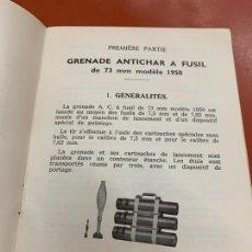 Militaria: ANTIGUO MANUAL O GUIA DE GRANADAS DE FUSIL ANTICARRO ANTITANQUE. 1A EDICION 1964. RARO. Lote 167498300