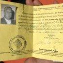 Militaria: LICENCIA TIPO A PERMISO DE ARMAS CAZA CUERPO DIPLOMATICO EMBAJADA REP FEDERAL ALEMANA 1962 ESCOPETA. Lote 167636244