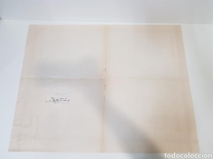 Militaria: ANTIGUO / MAPA MILITAR ITINERARIO DE ESPAÑA / AÑO 1945 / EJEMPLAR SELLADO - Foto 3 - 167778489
