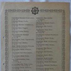 Militaria: PUBLICACION CONCESIONES DKIG - ORIGINAL ALEMANIA TERCER REICH. Lote 167954120