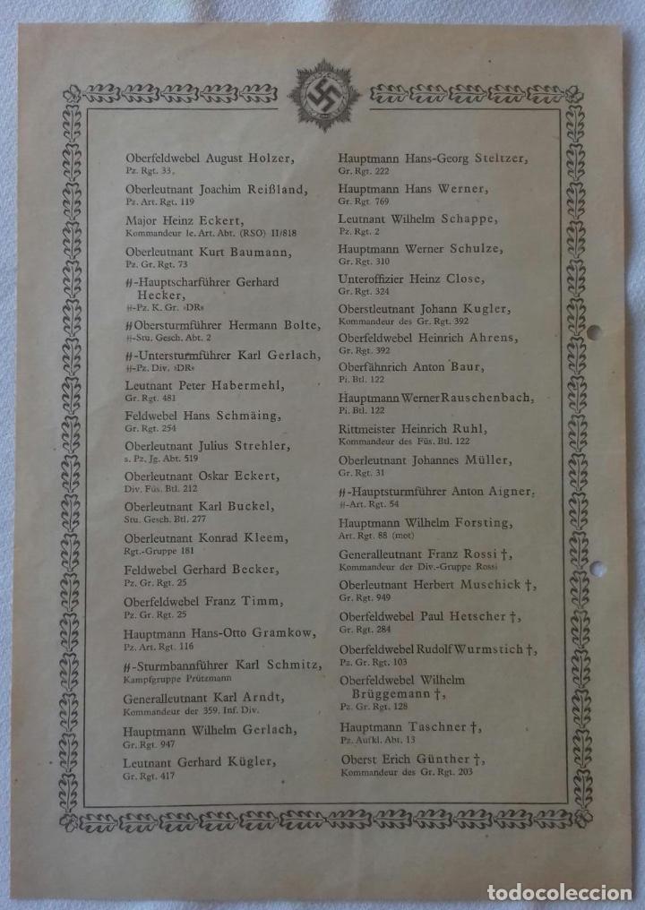 Militaria: PUBLICACION CONCESIONES DKIG - ORIGINAL ALEMANIA TERCER REICH - Foto 2 - 167954120