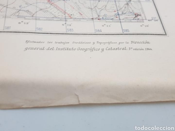 Militaria: ANTIGUO PLANO EDICIÓN MILITAR / 3 edición 1944 / VILLAVICIOSA DE ODÓN. - Foto 2 - 167992385