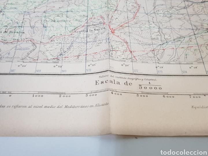 Militaria: ANTIGUO PLANO EDICIÓN MILITAR / 3 edición 1944 / VILLAVICIOSA DE ODÓN. - Foto 4 - 167992385