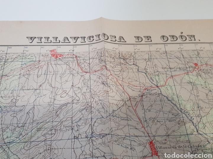 Militaria: ANTIGUO PLANO EDICIÓN MILITAR / 3 edición 1944 / VILLAVICIOSA DE ODÓN. - Foto 7 - 167992385