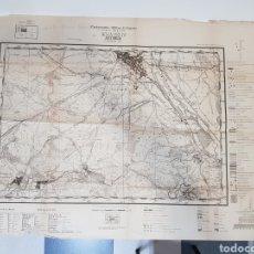 Militaria: PLANO DIRECTOR MILITAR EDICIÓN LIMITADA / AÑO 1944 / CARTOGRAFÍA MILITAR DE ESPAÑA / ASTORGA. Lote 167995533