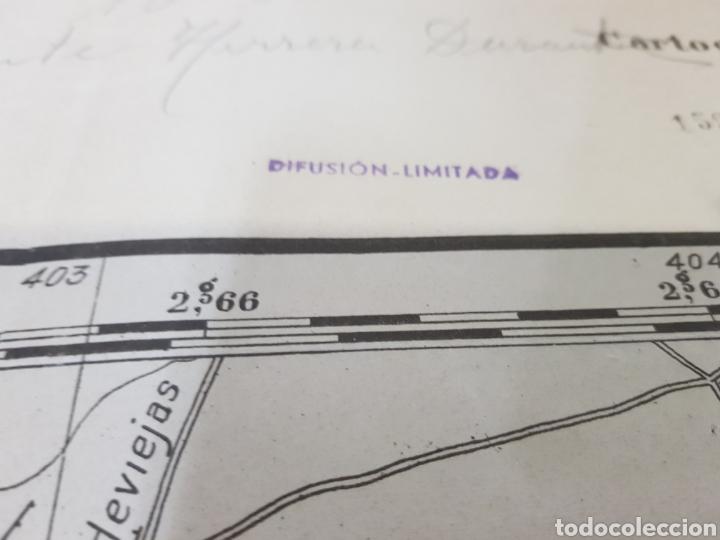 Militaria: PLANO DIRECTOR MILITAR EDICIÓN LIMITADA / AÑO 1944 / CARTOGRAFÍA MILITAR DE ESPAÑA / ASTORGA - Foto 2 - 167995533