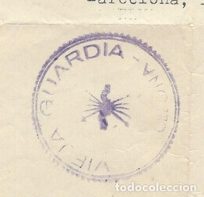 Militaria: DOCUMENTO DE LA VIEJA GUARDIA DE FRANCO - Foto 2 - 168227576