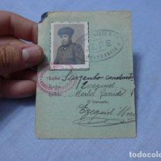 Militaria: * ANTIGUO CARNET REPUBLICANO DE 2 BRIGADA MIXTA. GUERRA CIVIL. ORIGINAL. ZX. Lote 168692104