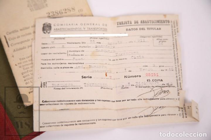 Militaria: Cartilla Militar del Ejército - Cartilla, Hoja Movilización, Hoja Concentración - Tarragona, 1932 - Foto 2 - 168704880