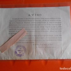 Militaria: DOCUMENTO GUERRA CIVIL 1937 MONTEFRIO GRANADA. Lote 168853528