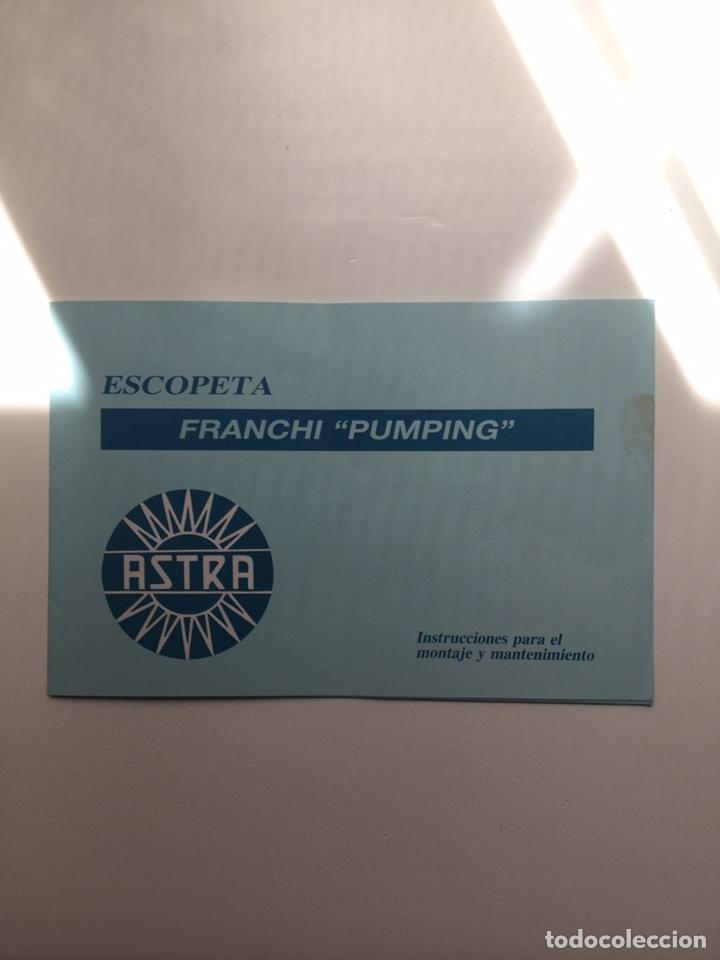 MANUAL ESCOPETA FRANCHI SPS 350 (Militar - Propaganda y Documentos)