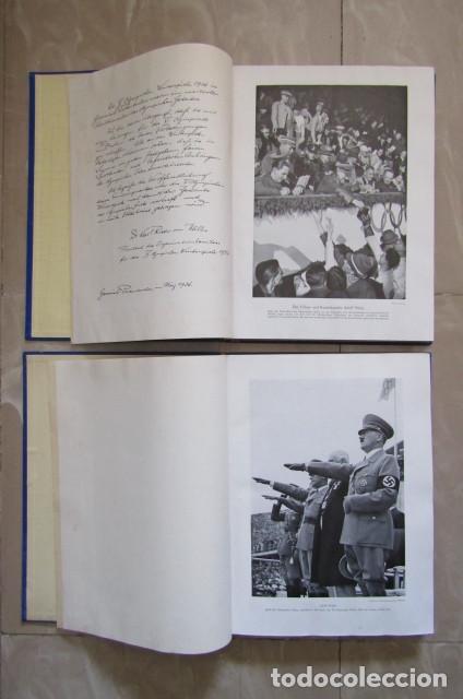 Militaria: 2 antiguos álbumes de cromos alemán editado en el III reich Olimpiadas Berlín Juegos Olímpicos 1936 - Foto 3 - 169221904