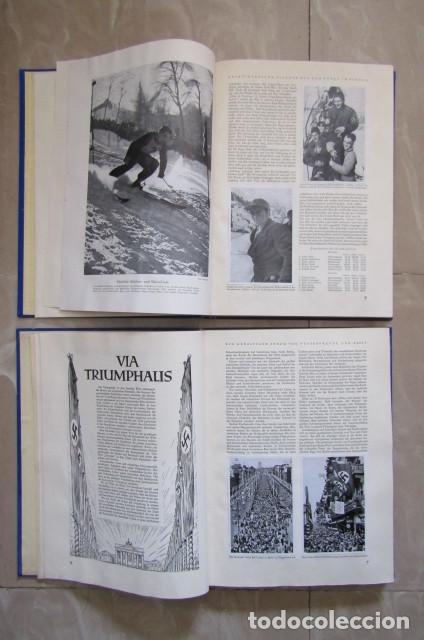 Militaria: 2 antiguos álbumes de cromos alemán editado en el III reich Olimpiadas Berlín Juegos Olímpicos 1936 - Foto 5 - 169221904
